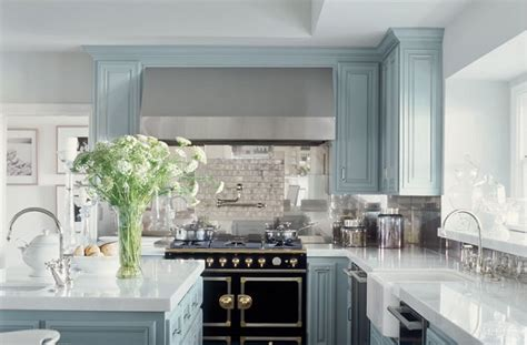 blue kitchen cabinets ideas 23 gorgeous blue kitchen cabinet ideas