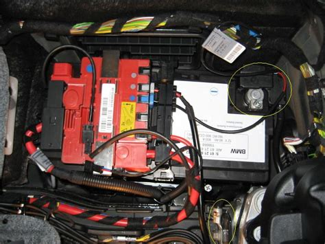 where is the battery on a bmw 328i 2007 bmw 328i convertible battery html autos post