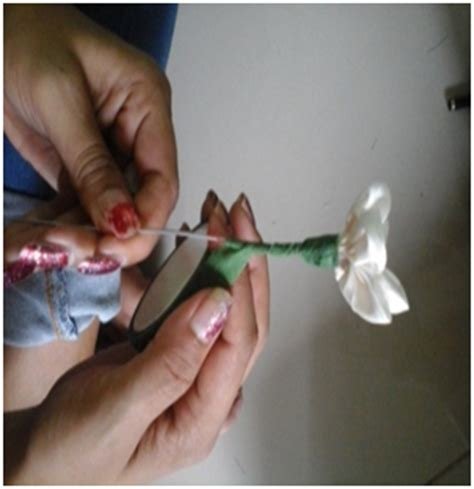 Kawat Batang Bunga tutorial membuat bunga melati dari limbah kain perca tutorial sulam pita