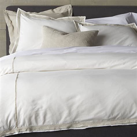 duvet covers and pillow shams crate and barrel