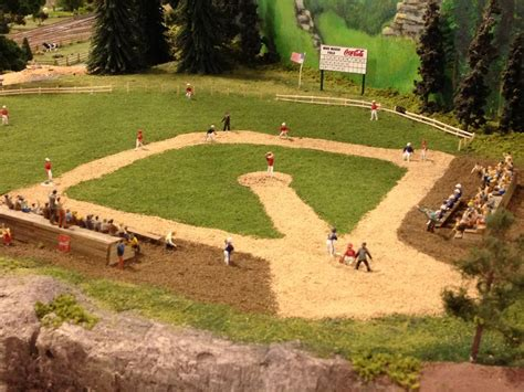 how to build a baseball field in your backyard building a baseball field and stadium o gauge