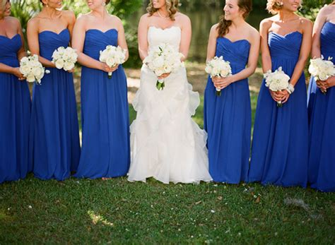 Royal Blue Bridesmaid Dress by Royal Blue Wedding Ideas And Wedding Invitations