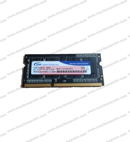 Ram Laptop Team Elite ram laptop ddr3 team elite 2 gb