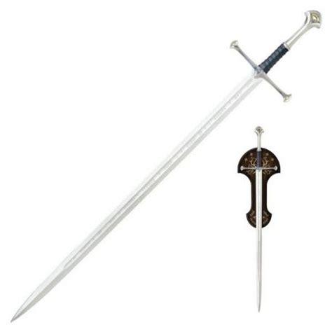 imagenes de espadas epicas espada anduril de aragorn escala 1 1 el se 241 or de los
