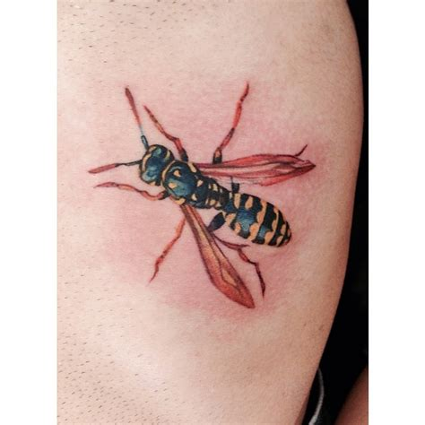 wasp tattoo wasp best ideas designs