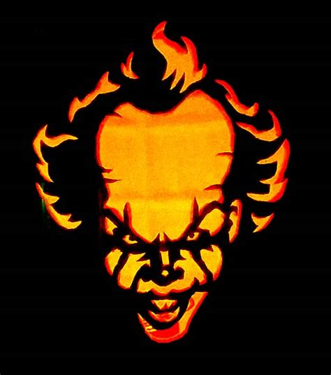 printable pumpkin stencils pennywise 25 scary spooky halloween pumpkin carving ideas 2017 for