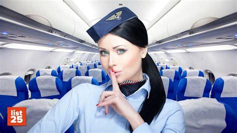 25 secrets flight attendants that you don t