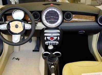 interni mini mini truck mini cooper interior