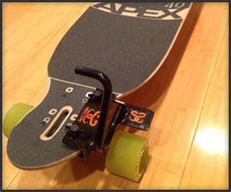 longboard skateboard with brake apex v brake for skateboards longboards awesome gear