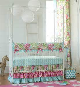 Custom crib bedding by carousel designs custom baby bedding