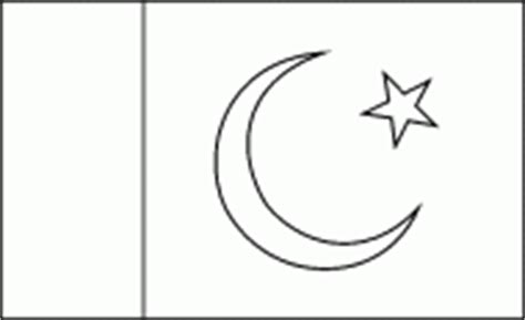 pakistani flag coloring pages