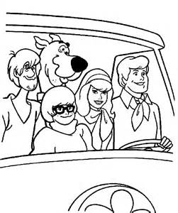 scooby doo coloring page free scooby doo coloring pages