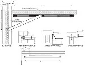 Types Of Cabinet Hinges Overhead Stops And Holders Cross Reference Chart
