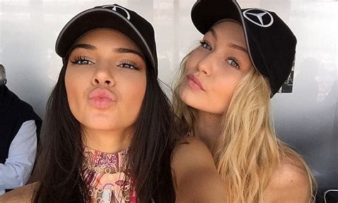gigi hadid insists she will never be too thin news gigi hadid reveals why kendall jenner will never be her