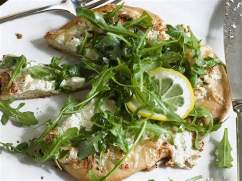 ina garten recipe white pizzas with arugula recipe ina garten food network