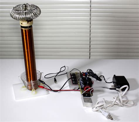 Musical Tesla Coil Plans Magic And With Tesla Coil Electroboom