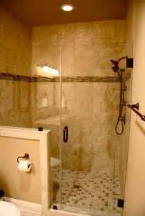 Bathroom Half Wall by Tile In Shower For The Home