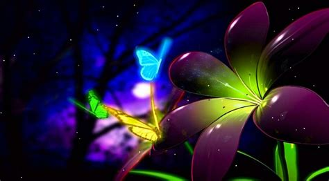 Download Fantastic Butterfly Animated Wallpaper Butterfly 3d Animation