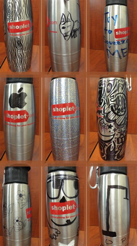 Decorate Water Bottle by Shoplet Decorate Your Water Bottle Contest Shoplet