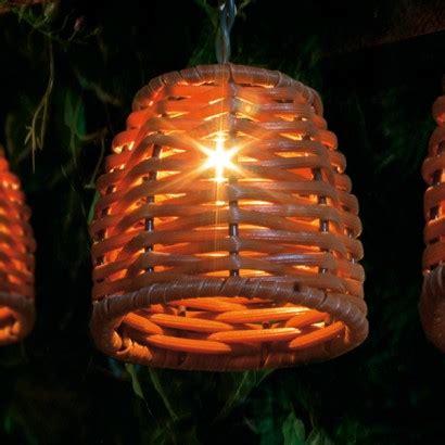wicker lights wicker string lights