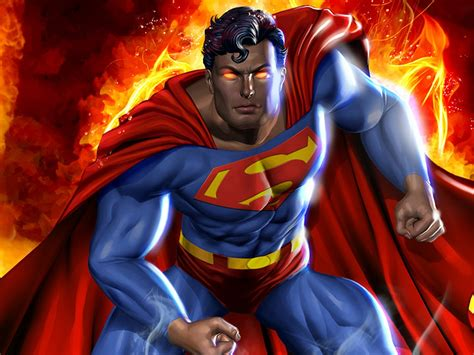 Superman the most famous superhero of the world