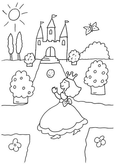 imagenes para colorear virina imprimir la princesa va al baile dibujo para colorear e