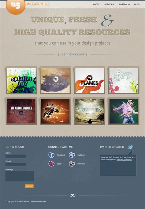 how we can do layout design in photoshop how to create a distinguishable textured web layout in
