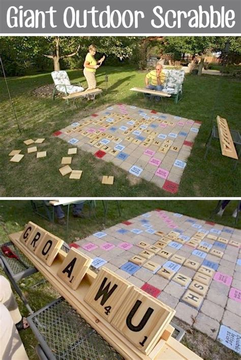 i want to play scrabble outdoor scrabble entertaining