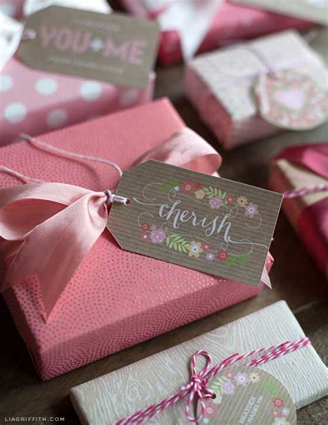 printable gift labels tags by the lia griffith 16 more valentine s day paper crafts the paper
