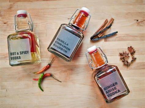 how to make your own flavored liquors hgtv