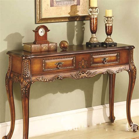 Antique Entryway Table European Antique Wood Console Table Neoclassical Entrance Foyer Entrance Station Hotel
