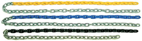 plastisol coated swing chain swing chains