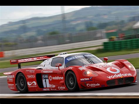 maserati mc12 race 2006 maserati mc12 racing misano front and red