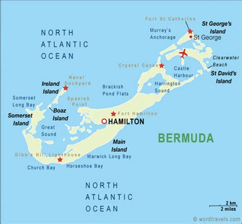 bermuda on a map northeast cruise guide cruise line offers