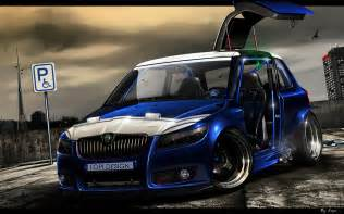 new tuner cars 3d car tuning ford focus rs tuning wallpaper johnywheels