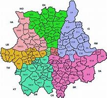 Image result for London postal district