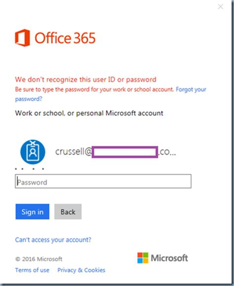 Office 365 Portal Not Redirecting Terence Luk Attempting To Sign Into Office 365 Https