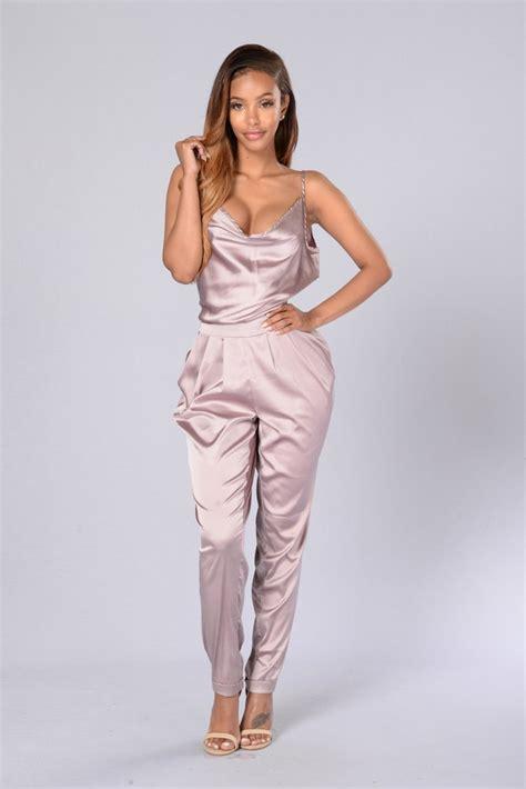 Duvet Buy Online Never Boring Jumpsuit Mauve Fashion Nova