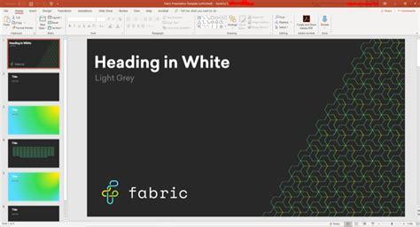 office  powerpoint design ideas fabric