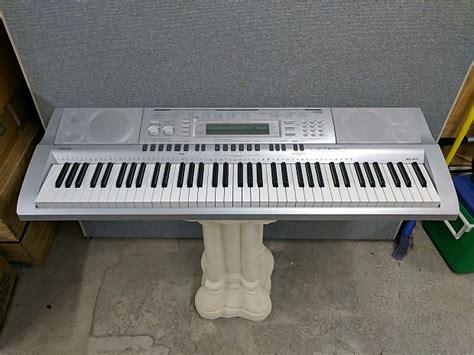 Keyboard Casio Wk 210 casio wk 210 the quantum pharaoh garage reverb
