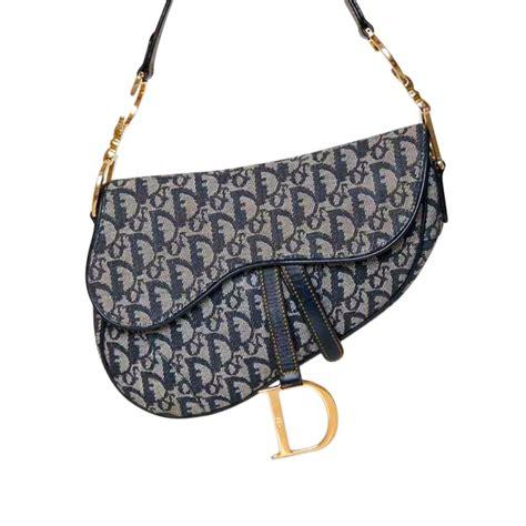Cowhide Leather Bag Christian Dior Saddle Bag