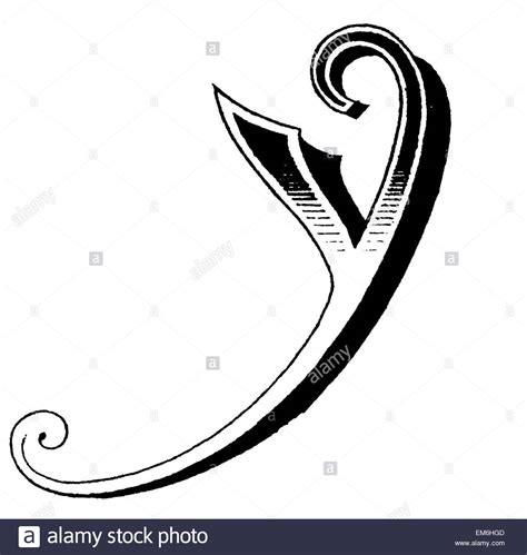 letter y typography letter y fancy font stock photo royalty free image 81280093 alamy