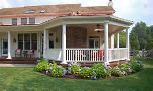 Covered porch ideas backyard landscaping gardening ideas