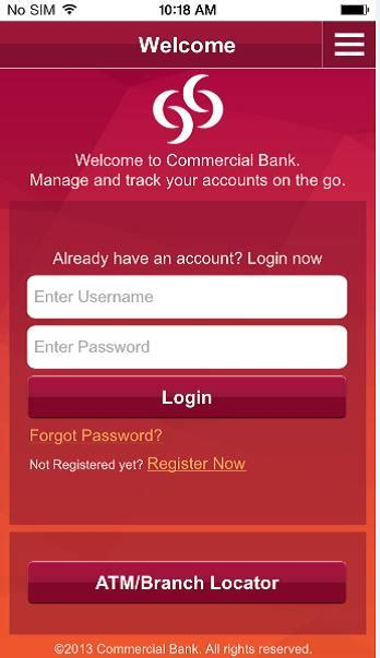 mobile banking commercial bank mobile banking features commercial bank of qatar
