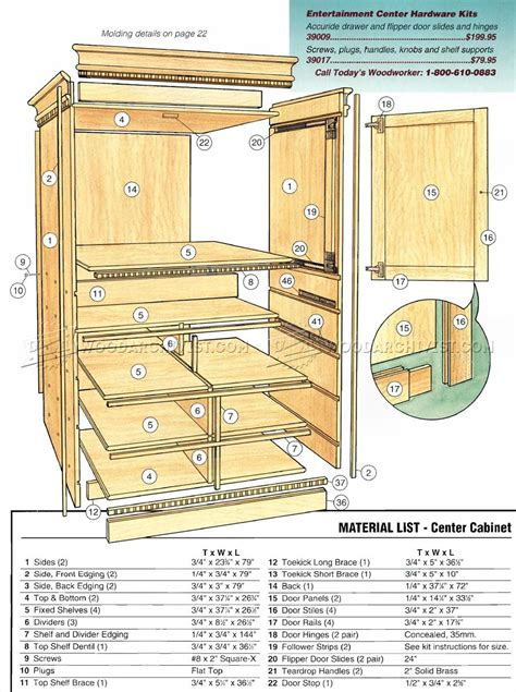 entertainment center woodworking plans entertainment center plans woodarchivist