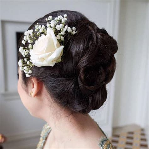 Wedding Updos With Flowers by 15 Wedding Hairstyle Designs Ideas Design Trends