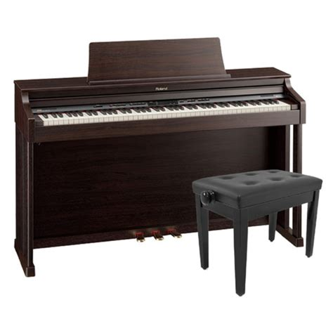 Roland Piano Stool by Roland Hp305 Digital Piano Rosewood With Rise And Fall