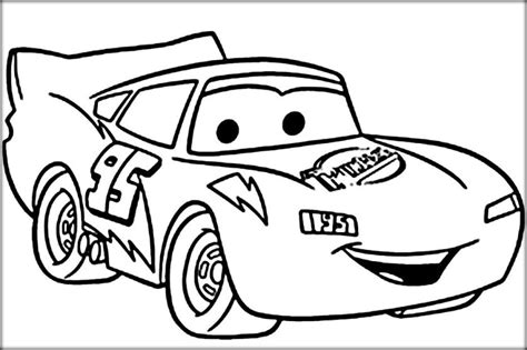 lightning mcqueen coloring pages color zini