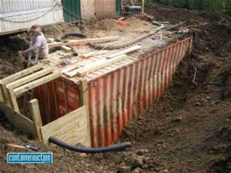 Sink Above Ground Pool by Why You Shouldn T Bury Shipping Containers For Bunkers