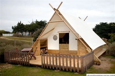 wooden tent canvas and wood tents